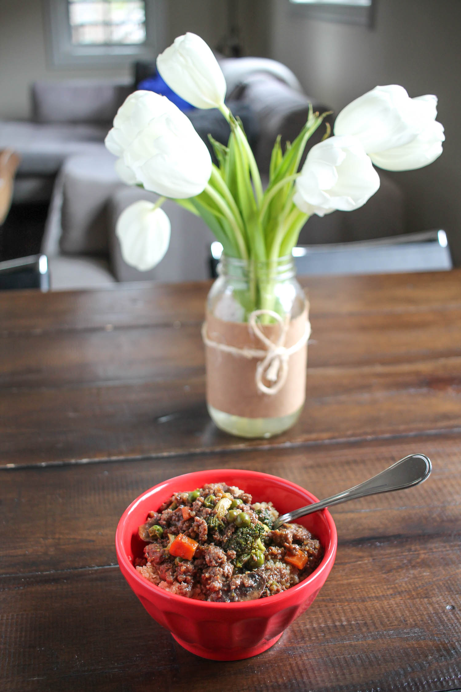Beef and Quinoa Stir Fry 4