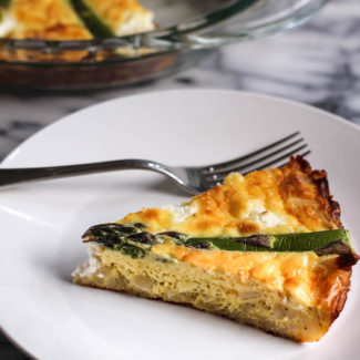 Hashbrown Quiche