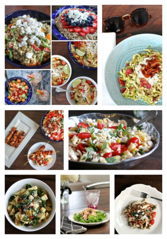 10 Summer Side Salads That Aren't Boring Collage