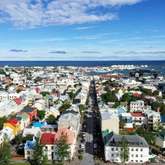 Exploring Reykjavik, Iceland