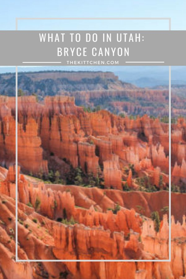 What to do in Utah: Bryce Canyon - you cannot miss this stunning natural wonder!  #utah #brycecanyon