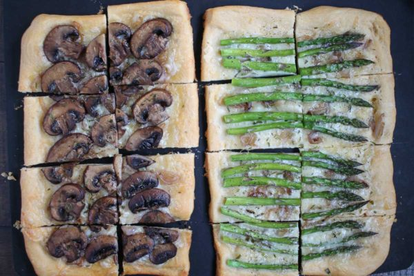 Asparagus and Mushroom Tarts-6