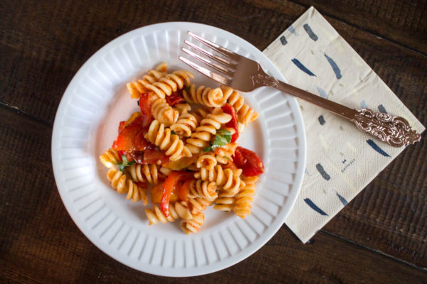 Roasted Tomato Pasta Salad-5