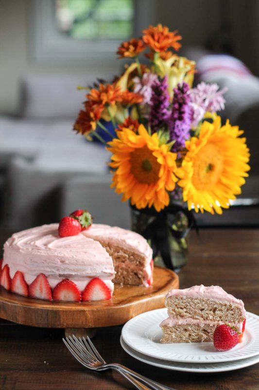 Strawberry Cake-4