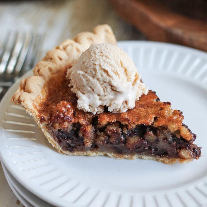 Chocolate Walnut Pie – The Easiest Pie Recipe