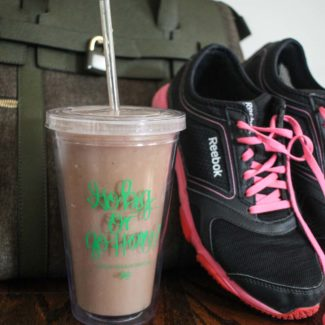Post Workout Smoothies with Olly Smoothie