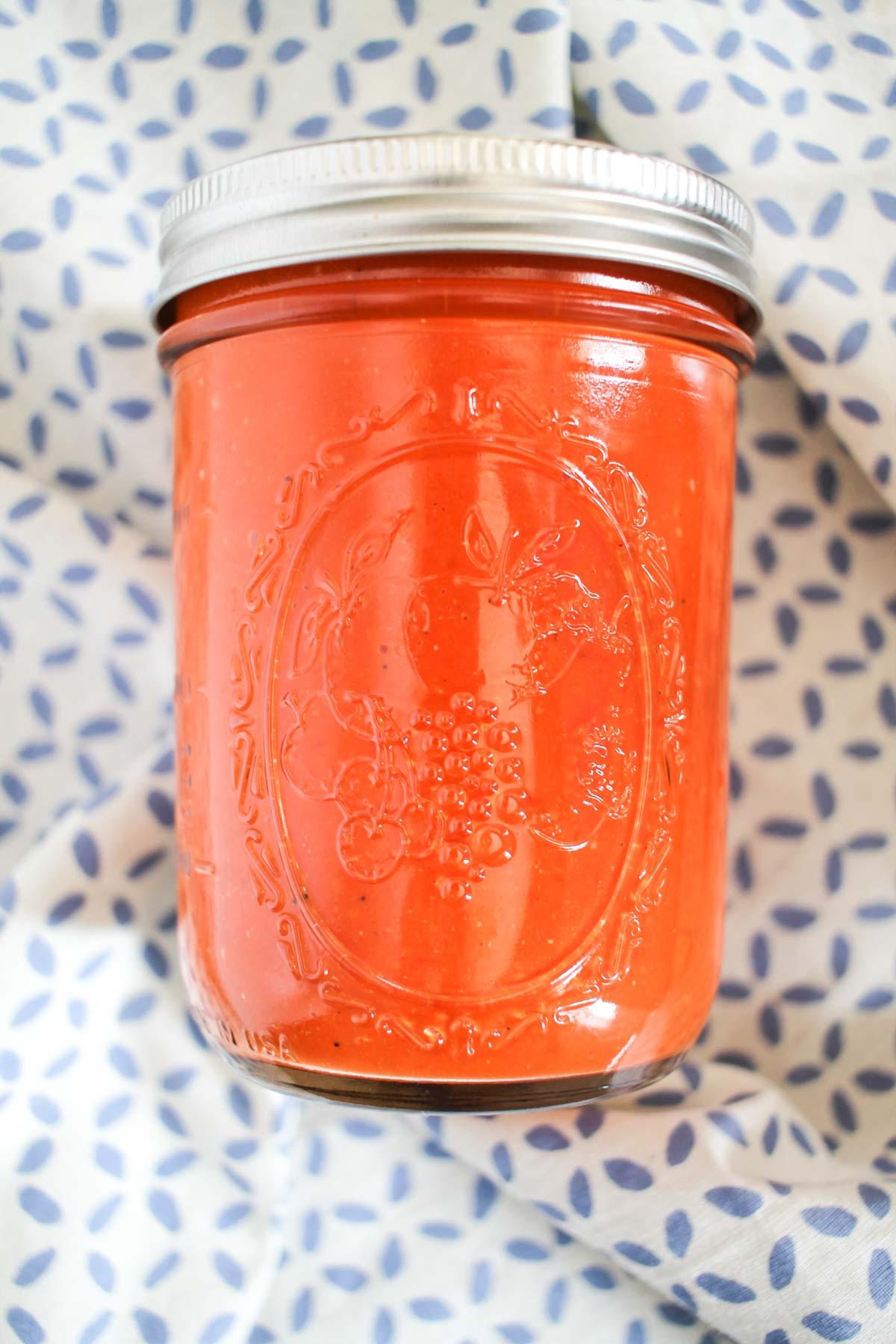 Roasted Tomato Sauce-3