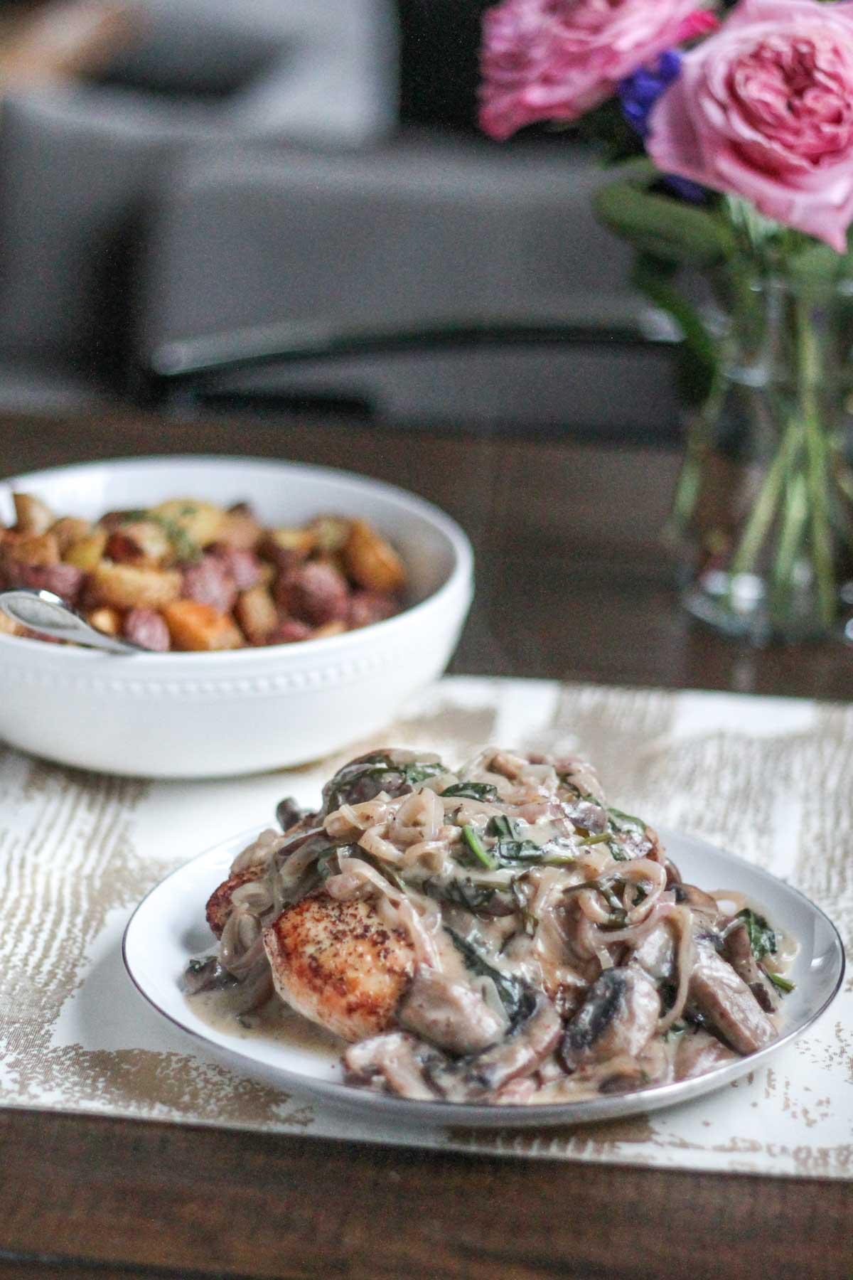 creamy-mushroom-and-shallot-chicken-3