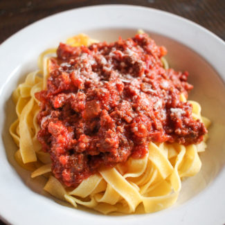 30 Minute Bolognese Sauce