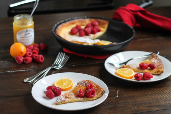 Lemon Raspberry Dutch Baby-11