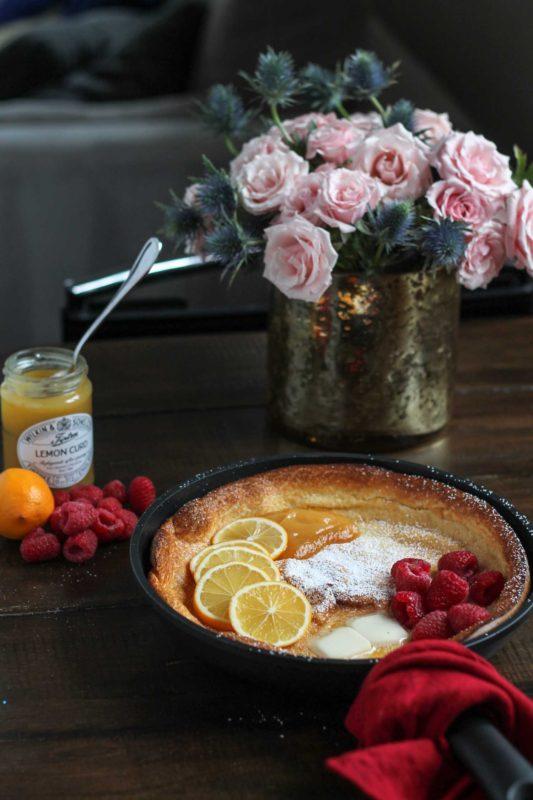 Lemon Raspberry Dutch Baby-2