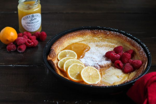 Lemon Raspberry Dutch Baby-3