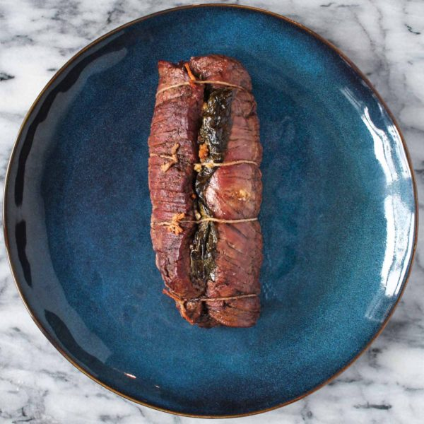 Recipe for Braciole with Red Wine Sauce