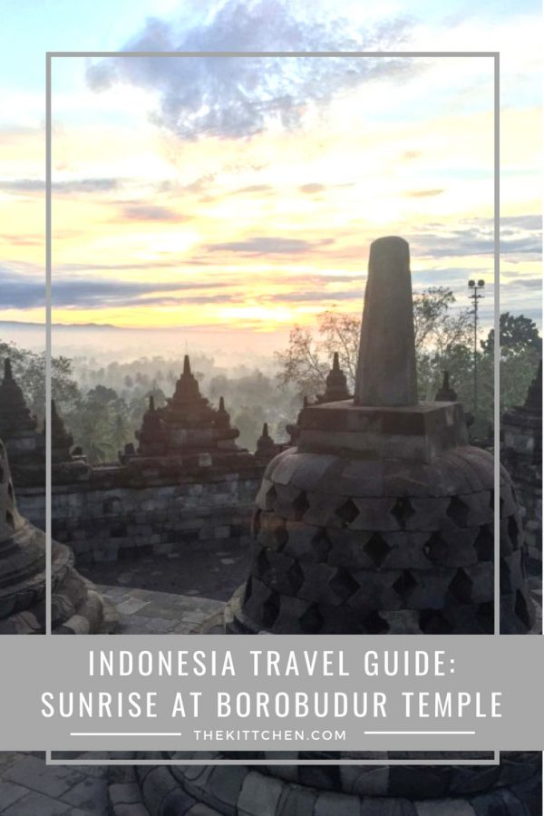 Indonesia Travel Guide | Watching the sunrise from the top of Borobudur Temple is one of the most spectacular travel experiences. #travel #borobudur #indonesia