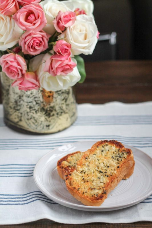 The Best Garlic Bread - a recipe that takes just 5 minutes!