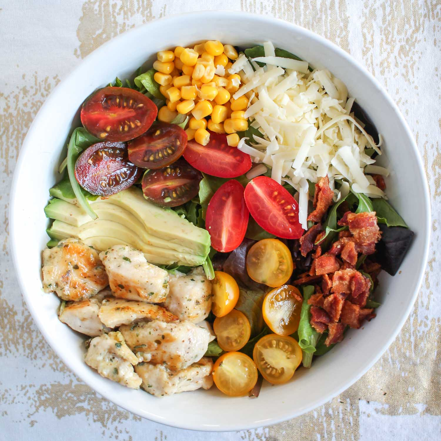 Ranch Chicken Cobb Salad