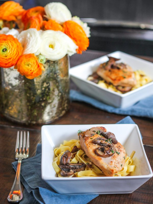 Easy Sherry Chicken Recipe