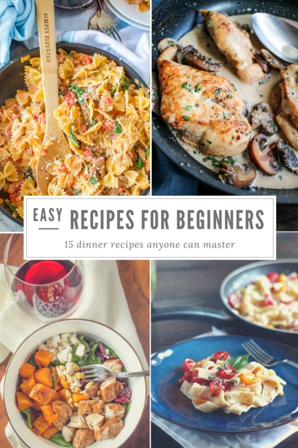 Easy Recipes for Beginners - thekittchen