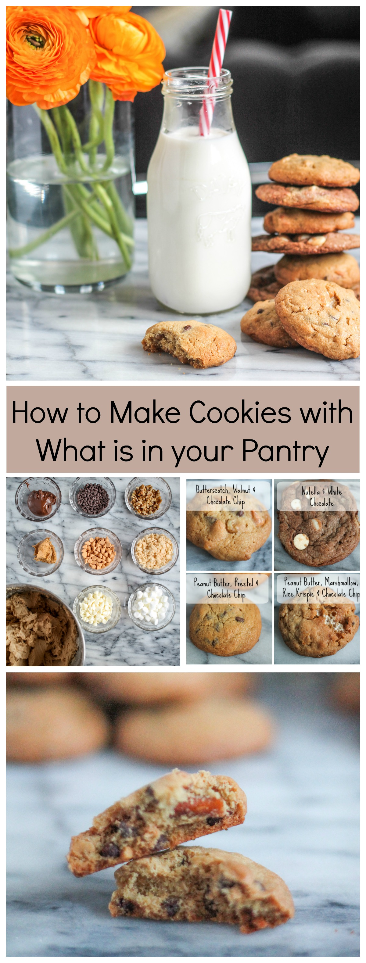 Crazy Cookies – How to Make Cookies with what is in your Pantry