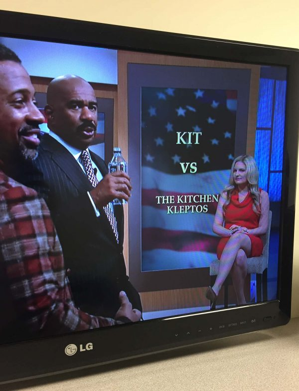 Kit is on the Steve Harvey Show!
