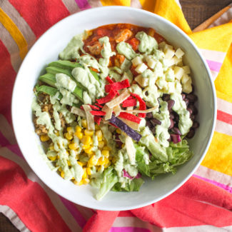20 minute Chicken Burrito Bowls