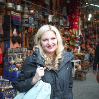 Exploring the Medina in Marrakech