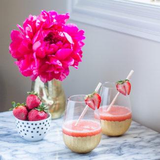 1 Minute Rosé Slushies