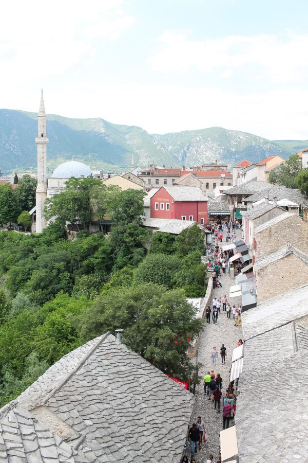 The tiny village of Mostar, Bosnia is one of the prettiest places in the world.
