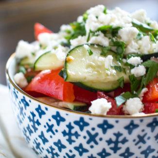 Shopska Salad (Balkan Salad)