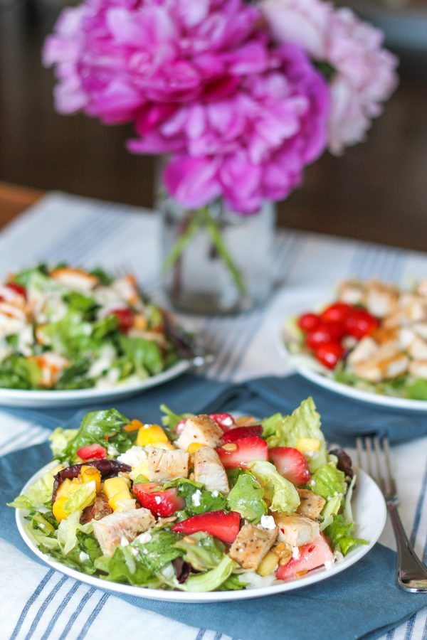 wendys summer salad