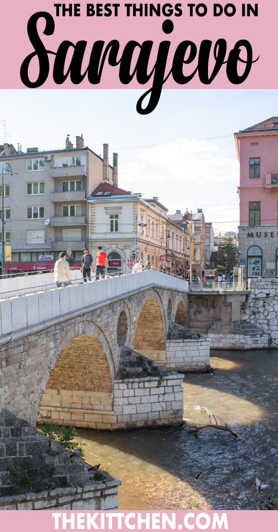 A complete guide of what to do in Sarajevo including what to do, see, and eat.