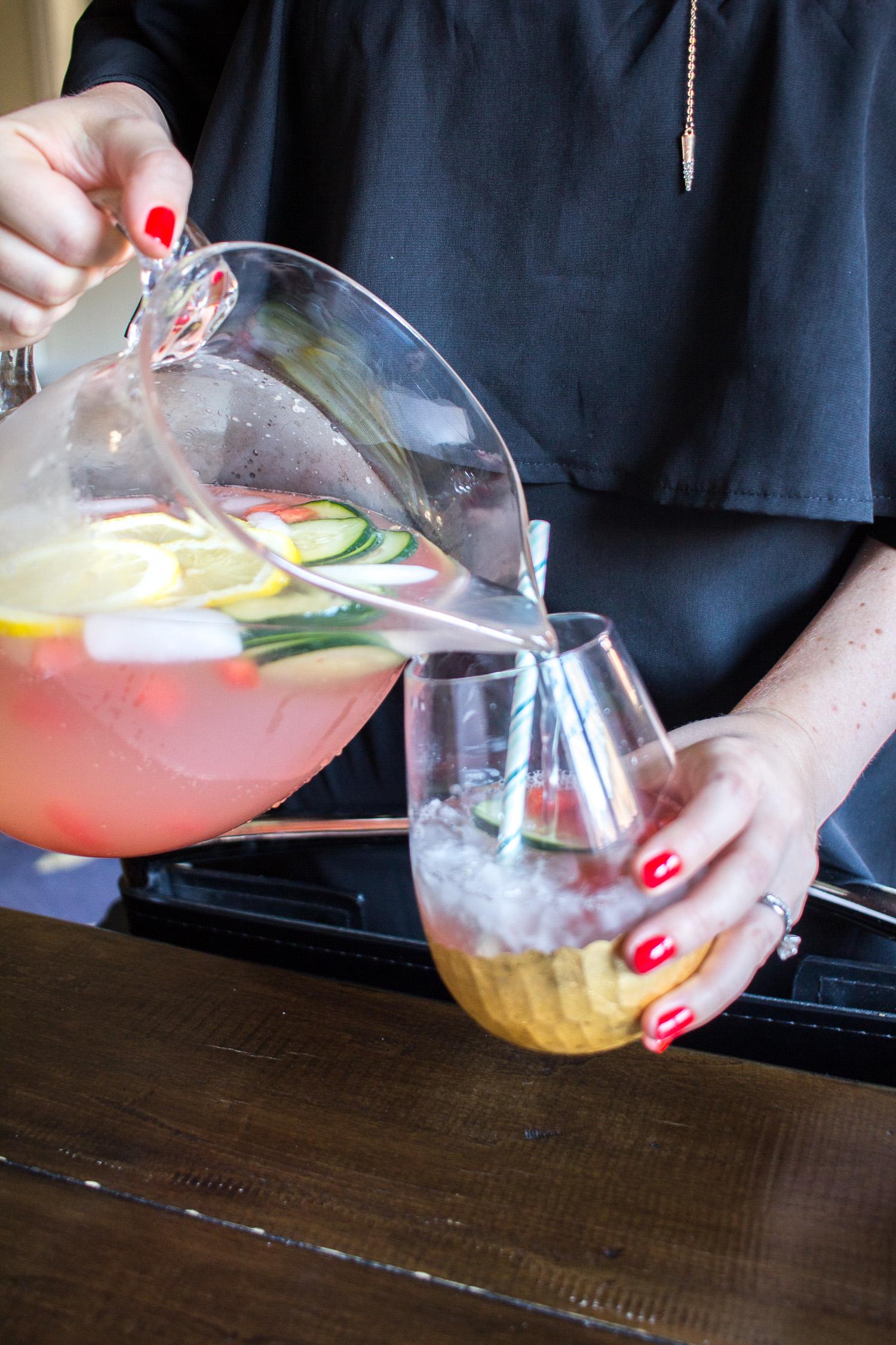 Watermelon Lemonade Cooler The Best Summer Cocktail Thekittchen