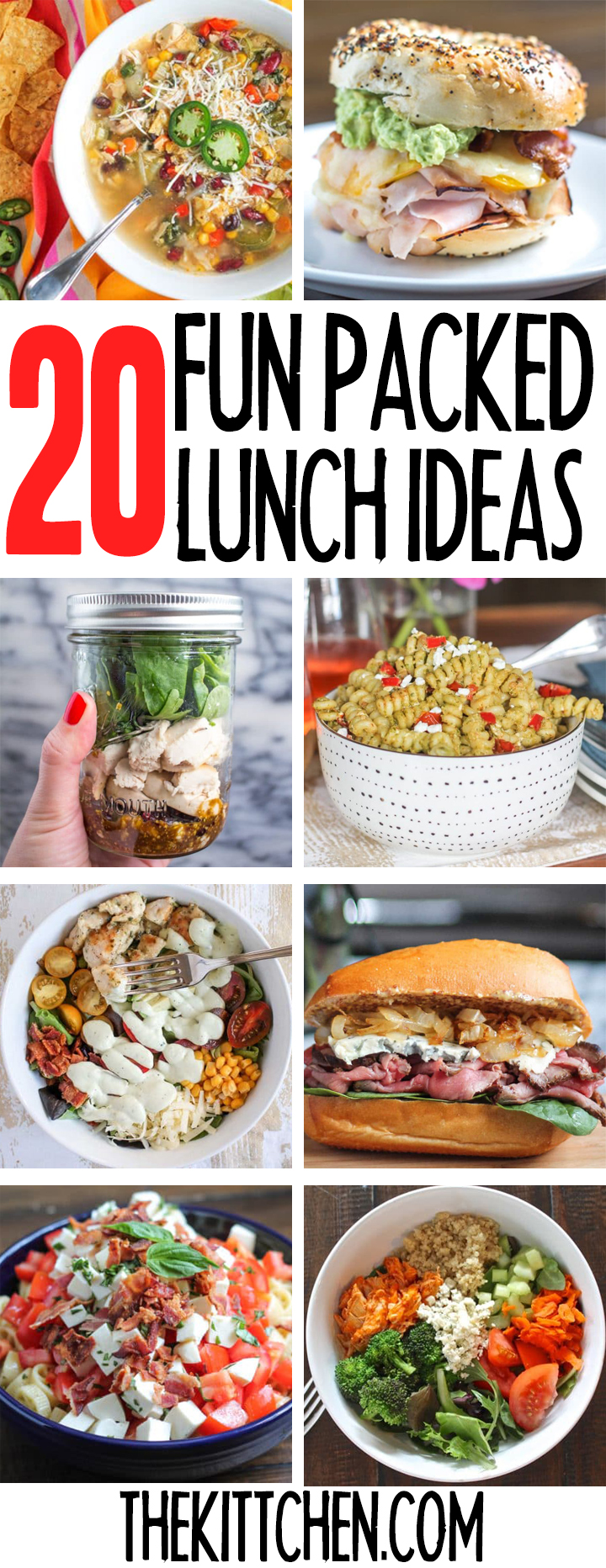 20 Fun Packed Lunch Ideas
