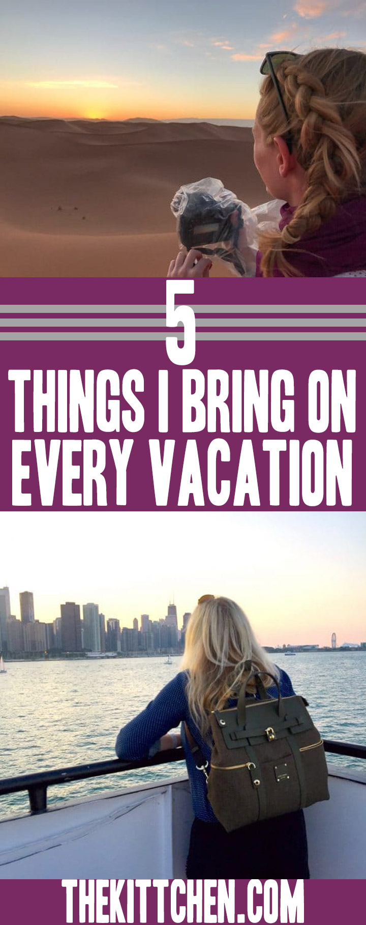 5 Things I Bring on Every Vacation