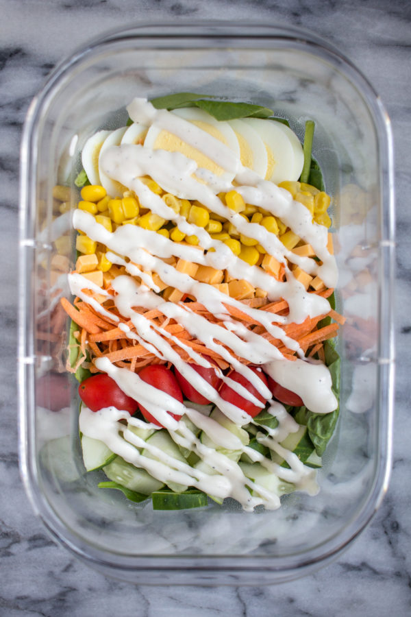 A Healthy Lunch: Simple Cobb Salad - thekittchen
