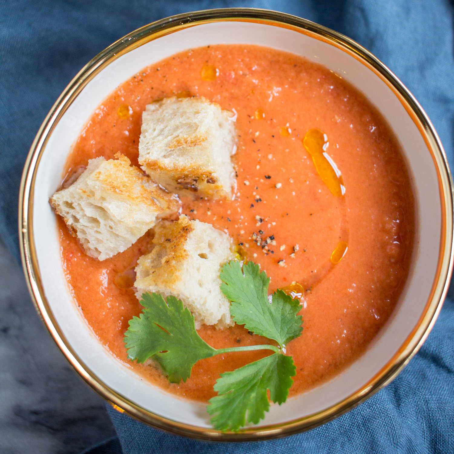 How to Make Gazpacho