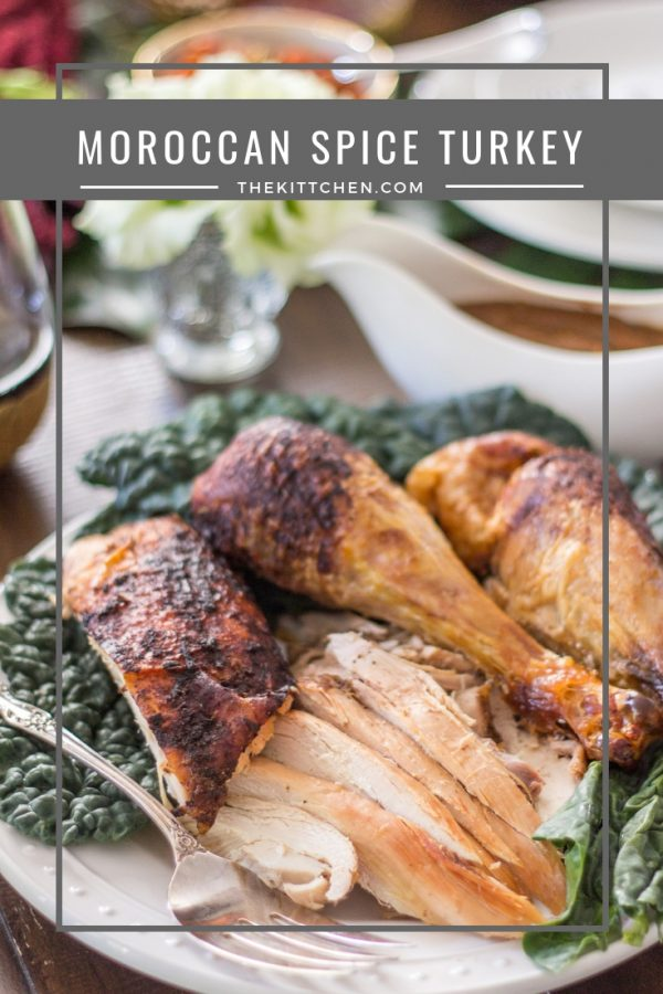 Moroccan Spice Turkey | Let this Moroccan Spice Turkey be the star of the show on #Thanksgiving. It has bold flavors and makes the best gravy.