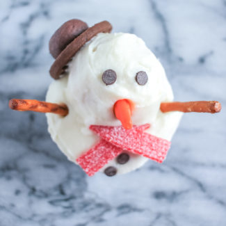 Snowmen Cupcakes and my Macy's Cooking Demo!