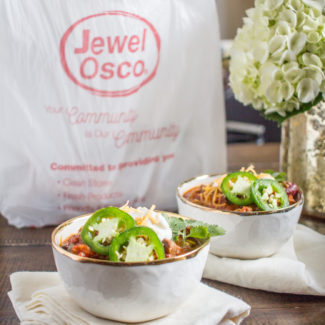Jewel Osco's Home Delivery and a Hearty Steak Chili