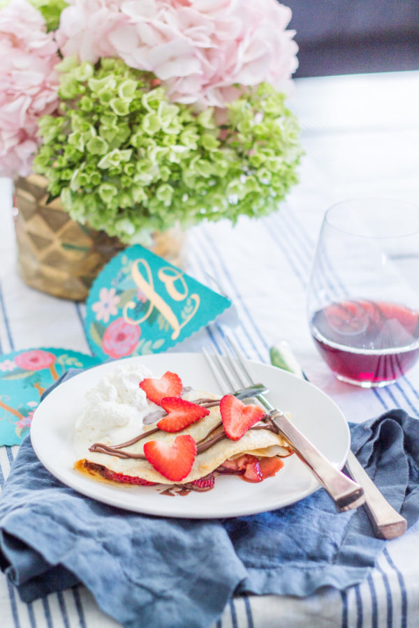 How to Make Crepes - the perfect meal for Valentines Day