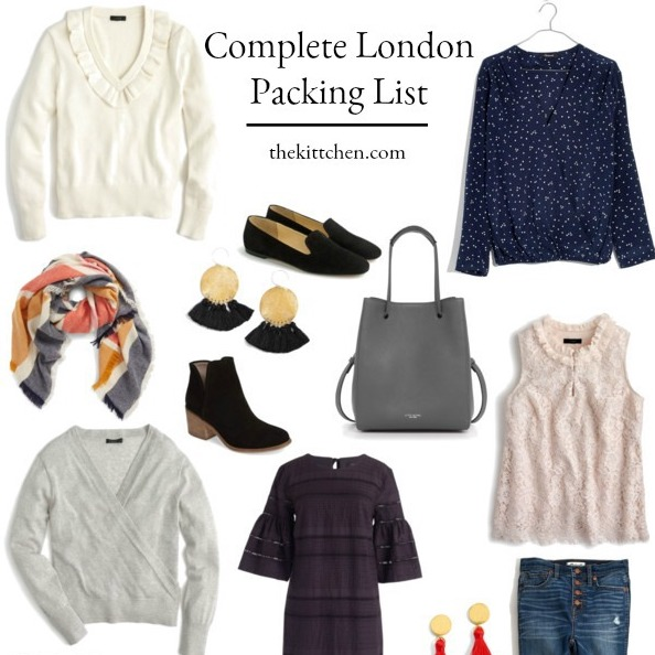 89e374395385 What to Pack for London - A Complete London Packing List