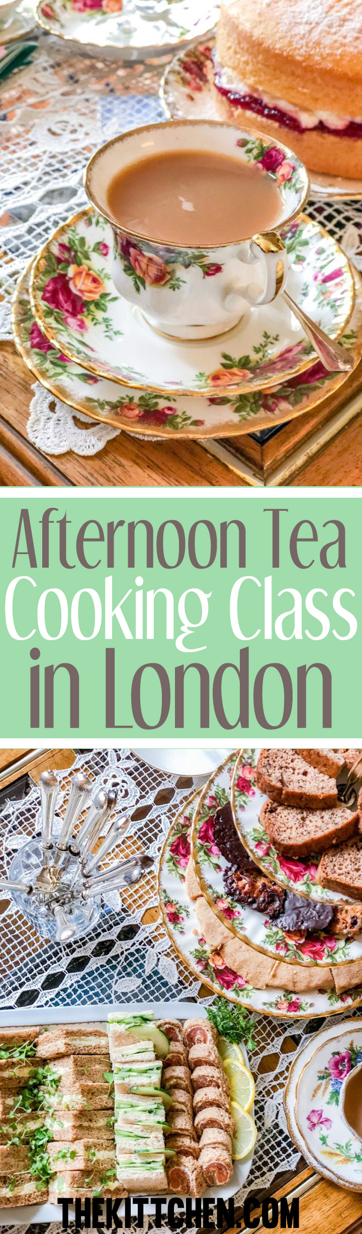Afternoon Tea is the prime example of how extraordinary British food can be. The ceremony of it, the delicious finger sandwiches, the warm scones, and the pretty desserts are simply wonderful.