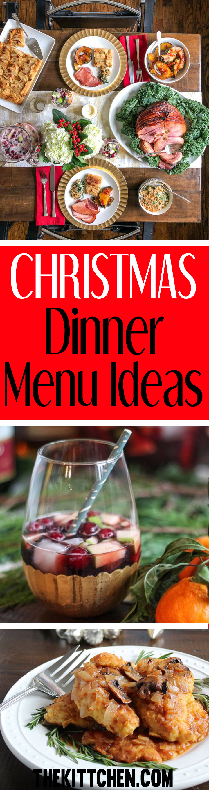 These Christmas dinner menu ideas will help you plan a memorable meal for your family.