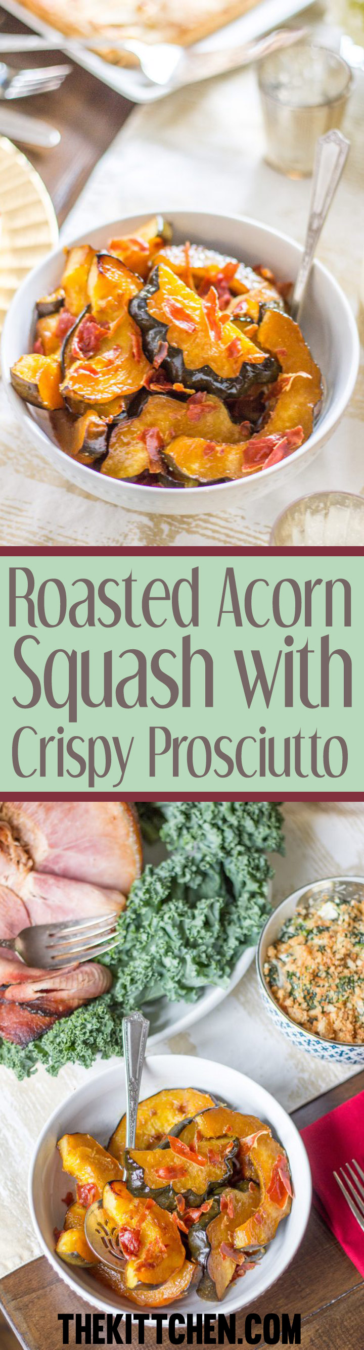 Roasted Acorn Squash is a perfect holiday side dish