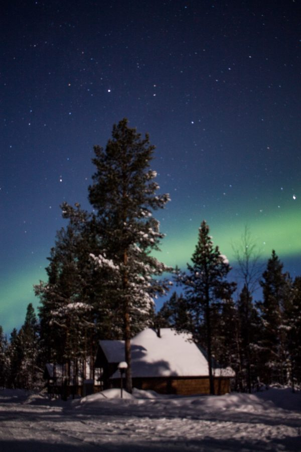 Seeing the Northern Lights in Lapland