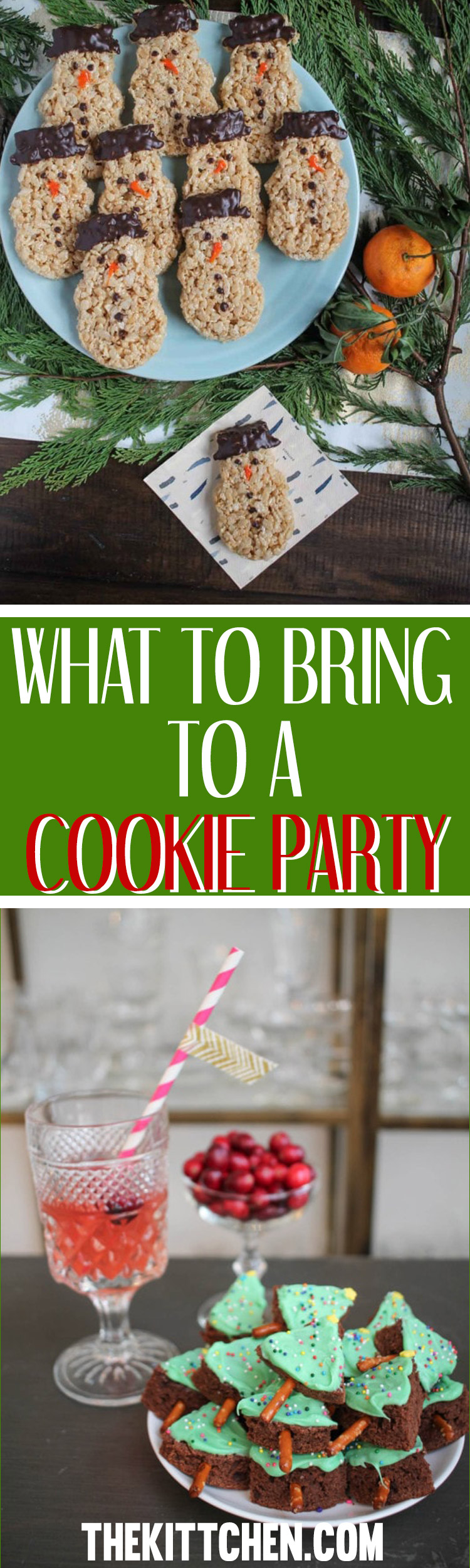 Wondering what to bring to a cookie party? Here is a collection of delicious semi-homemade and from-scratch recipes for cookies and holiday treats!