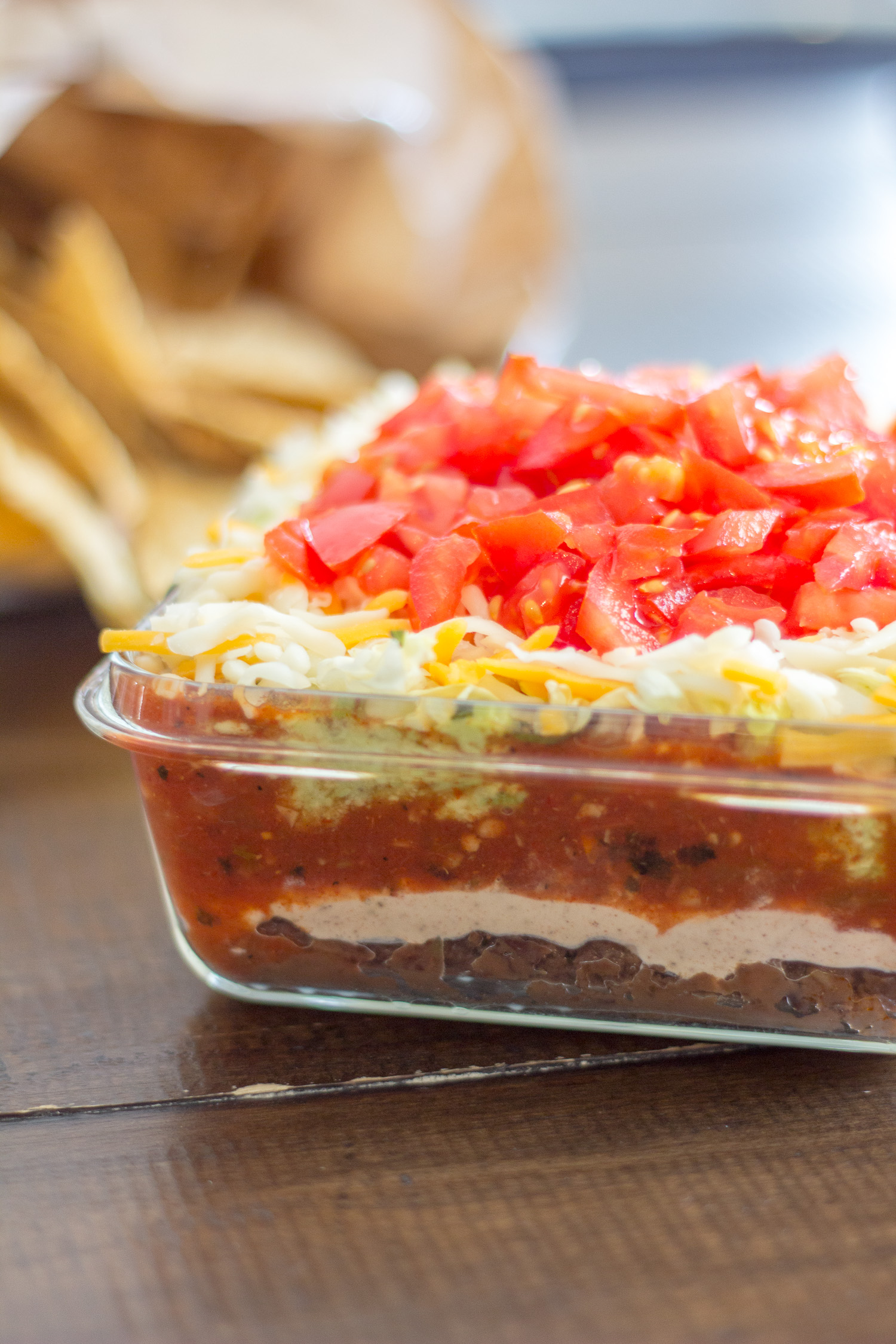 7 Layer Taco Dip A 5 Minute No Cook Recipe To Serve At Watermelon Wallpaper Rainbow Find Free HD for Desktop [freshlhys.tk]