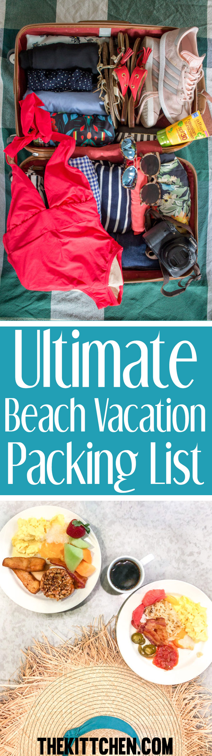 This beach vacation packing list will help you prepare for sun and sand. This is the time of year when I am ready to escape Chicago's chilly temps and relax on the beach. I am probably not the only person who feels that way.