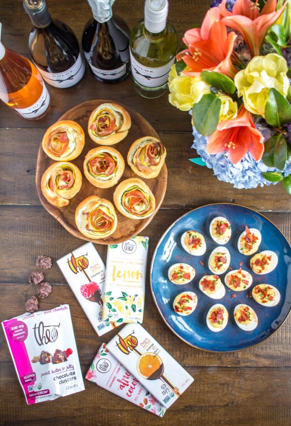 This is the best deviled egg recipe - these deviled eggs have the perfect balance of richness from the egg yolk and mayonnaise plus seasoning from mustard, lemon, and sriracha. A crispy prosciutto garnish makes this recipe extra special.
