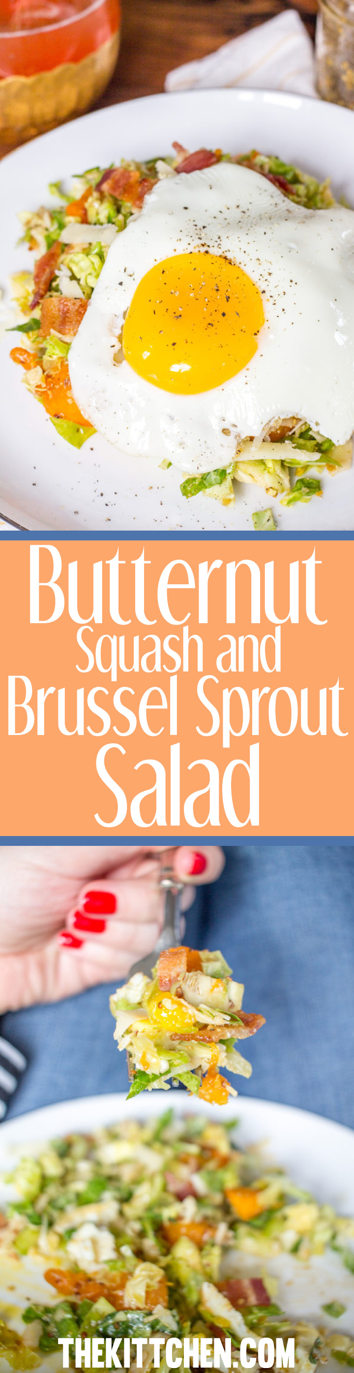 This easy to prepare Butternut Squash and Brussels Sprout Salad is anything but ordinary. It is a salad with bold flavors that makes for an easy weeknight meal.